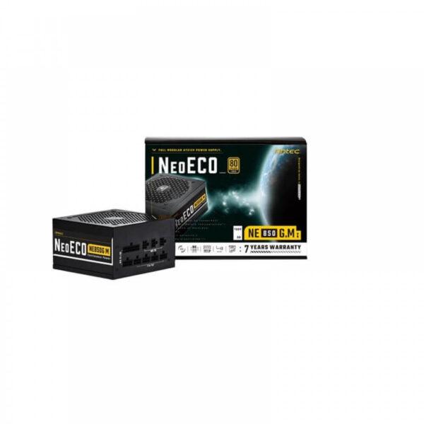 ANTEC NEO ECO GOLD MODULAR 850 WATT 80 PLUS GOLD CERTIFIED POWER SUPPLY