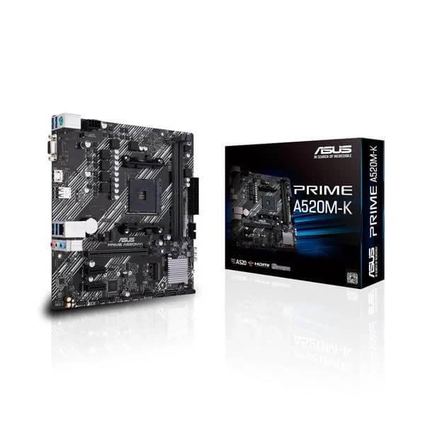 ASUS PRIME A520M-K AMD AM4 MATX MOTHERBOARD