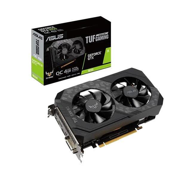 ASUS TUF GAMING GTX 1650 OC 4GB GRAPHICS CARD