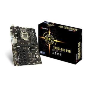 BIOSTAR TB360-BTC PRO INTEL B360 DDR4 12 GPU MINING MOTHERBOARD