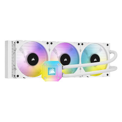 CORSAIR ICUE H150I ELITE CAPELLIX LIQUID CPU COOLER (WHITE) (CW-9060051-WW)