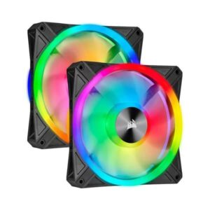 CORSAIR ICUE QL140 RGB 140mm PWM CABINET FAN (DUAL PACK) (CO-9050100-WW)