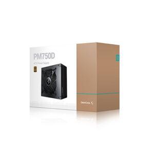 DEEPCOOL PM750D 80 PLUS GOLD ATX POWER SUPPLY (R-PM750D-FA0B-UK)