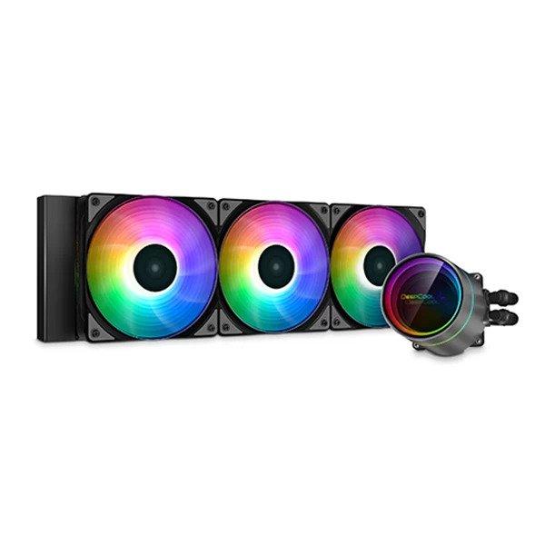 DEEPCOOL GAMERSTORM CASTLE 360EX ARGB CPU LIQUID COOLER (DP-GS-H12W-CSL360EX-AR)