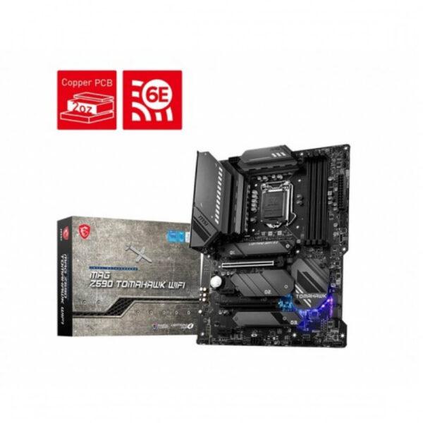 MSI MAG Z590 TOMAHAWK WIFI ATX LGA1200 MOTHERBOARD