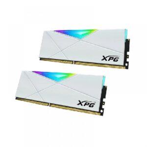 ADATA XPG SPECTRIX D50 16GB (8GBX2) RGB 3200MHZ RAM (WHITE) (AX4U32008G16A-DW50)