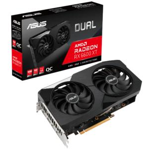ASUS DUAL RADEON RX 6600 XT OC EDITION 8GB GDDR6 GRAPHICS CARD