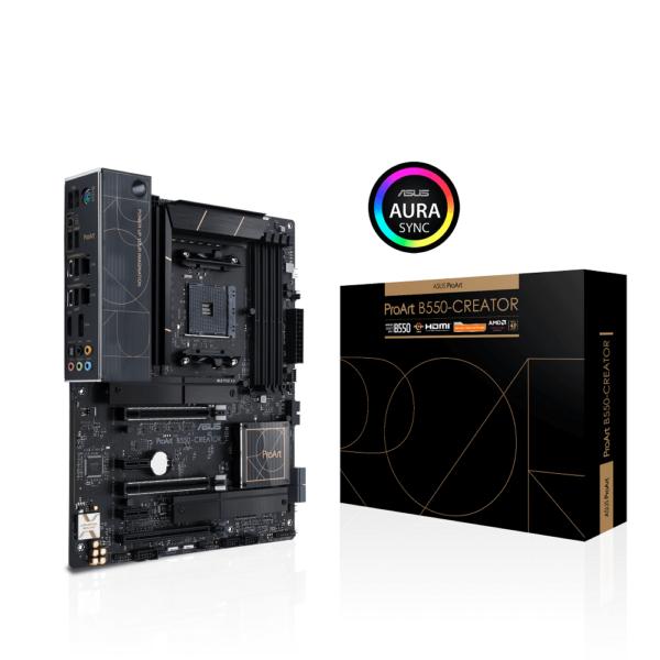 ASUS PROART B550-CREATOR AMD B550 RYZEN AM4 ATX MOTHERBOARD