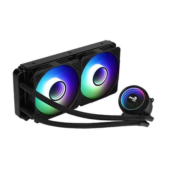 AEROCOOL MIRAGE L240 ARGB 240mm CPU LIQUID COOLER (BLACK)