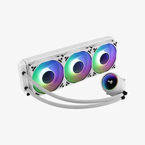 AEROCOOL MIRAGE L360 ARGB 360mm CPU LIQUID COOLER (WHITE)