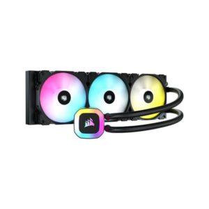 CORSAIR H150 RGB CPU 360mm LIQUID COOLER (BLACK) (CW-9060054-WW)