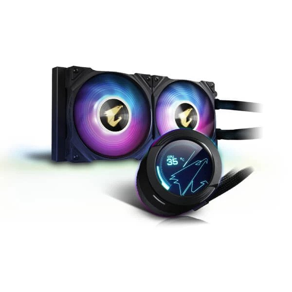 GIGABYTE AORUS WATERFORCE X 240 ARGB CPU LIQUID COOLER