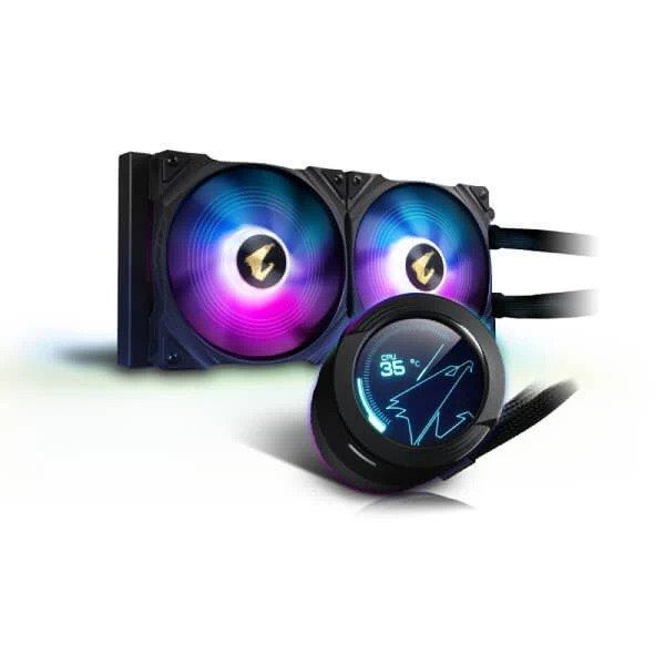 GIGABYTE AORUS WATERFORCE X 280 ARGB CPU LIQUID COOLER