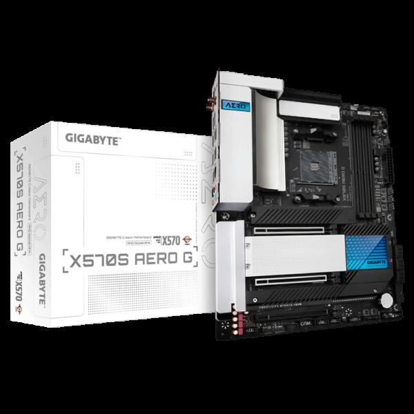 GIGABYTE X570S AERO G AMD AM4 ATX MOTHERBOARD