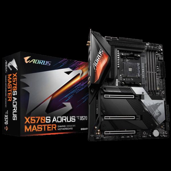 GIGABYTE X570S AORUS MASTER AMD AM4 ATX MOTHERBOARD