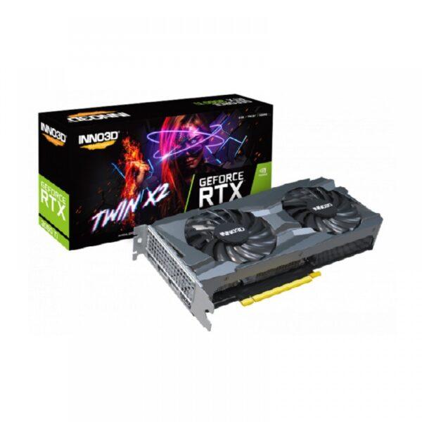 INNO3D GEFORCE RTX 3060 TI TWIN X2 LHR 8GB GDDR6 GRAPHICS CARD (N306T2-08D6-119032DH)