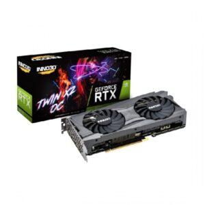 INNO3D GEFORCE RTX 3070 TWIN X2 OC LHR 8GB GDDR6 GRAPHICS CARD (N30702-08D6X-171032LH)