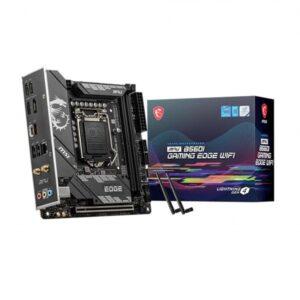 MSI MPG B560I Gaming Edge WIFI Motherboard
