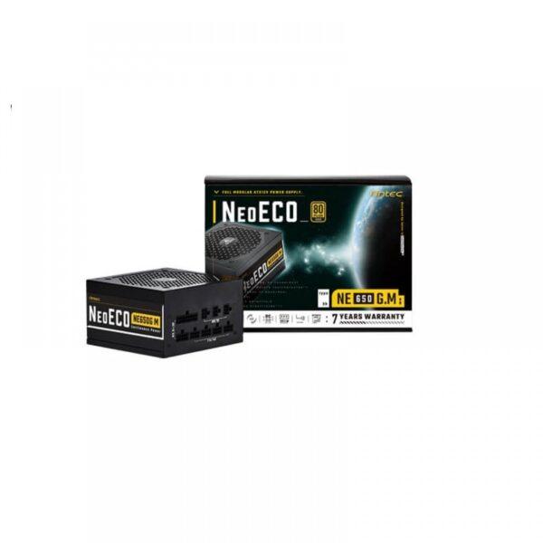 ANTEC NEO ECO GOLD MODULAR 650 WATT 80 PLUS GOLD CERTIFIED POWER SUPPLY (NE650G M GB)