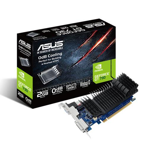 ASUS GEFORCE GT 730 2GB GDDR5 LOW PROFILE GRAPHICS CARD (GT730-SL-2GD5-BRK)