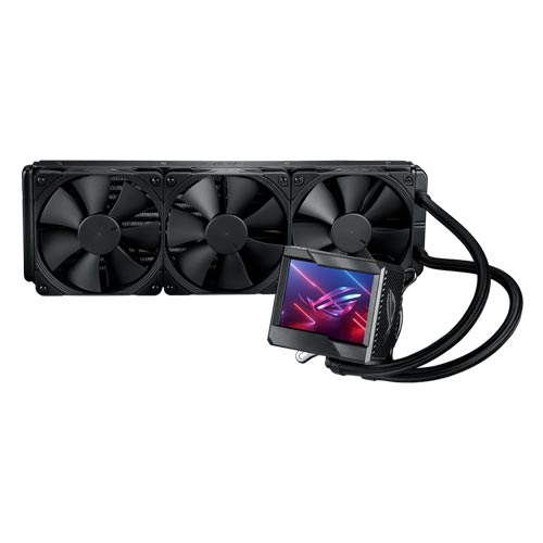 ASUS ROG RYUJIN II 360 ALL-IN-ONE CPU LIQUID COOLER WITH 3.5 INCH LCD