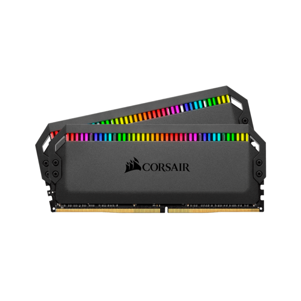 CORSAIR DOMINATOR PLATINUM RGB 16GB (2x8GB) DDR4 DRAM 3200MHz C16 RAM (CMT16GX4M2E3200C16)