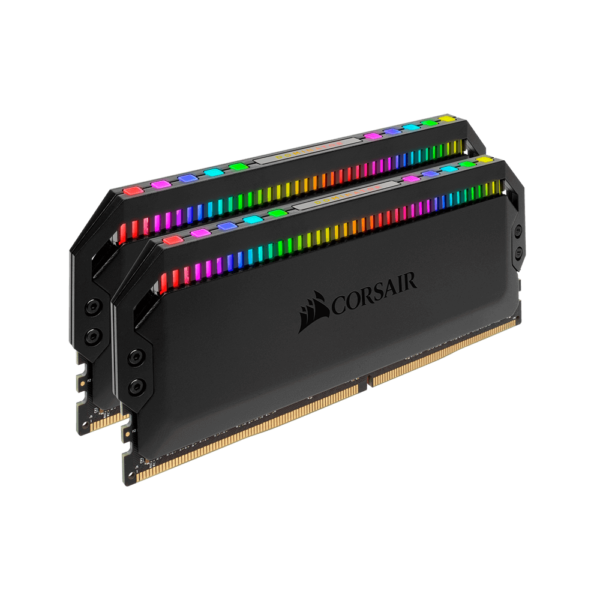 CORSAIR DOMINATOR PLATINUM RGB 16GB (2x8GB) DDR4 DRAM 3600MHz C18 RAM (CMT16GX4M2D3600C18)