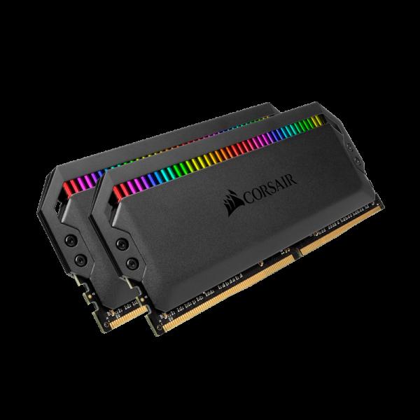 CORSAIR DOMINATOR PLATINUM RGB 32GB (2x16GB) DDR4 DRAM 3200MHz C16 RAM (CMT32GX4M2E3200C16)