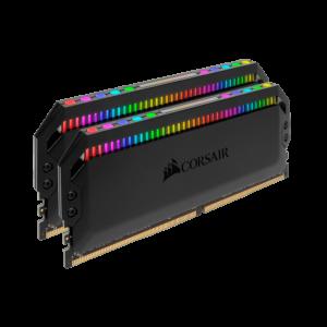 CORSAIR DOMINATOR PLATINUM RGB 32GB (2x16GB) DDR4 DRAM 3600MHz C18 RAM (CMT32GX4M2D3600C18)