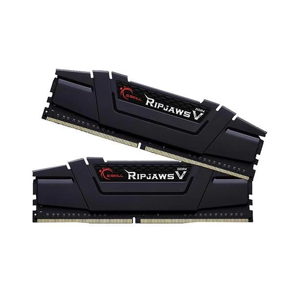 GSKILL RIPJAWS V 32GB (16GBx2) DDR4 3600MHz RAM (BLACK) (F4-3600C18D-32GVK)