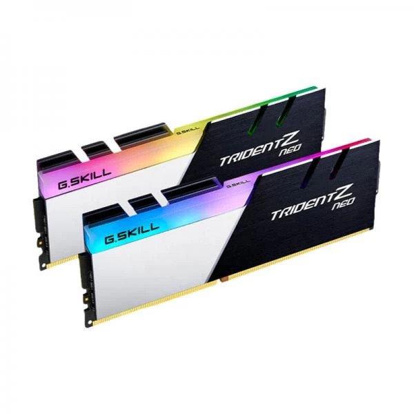 GKSILL TRIDENT Z NEO 16GB (8GBx2) DDR4 3600MHz RGB RAM (F4-3600C18D-16GTZN)