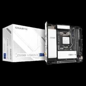 GIGABYTE Z590I VISION D LGA1200 MINI-ITX MOTHERBOARD