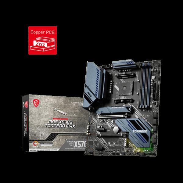 MSI MAG X570S TORPEDO MAX AMD AM4 ATX MOTHERBOARD