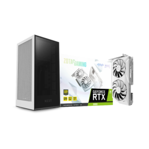 NZXT H1 (BLACK/WHITE) & ZOTAC RTX 3060 AMP WHITE BUNDLE