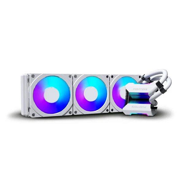 PHANTEKS GLACIER ONE 360MPH ARGB CPU LIQUID COOLER (WHITE) (PH-GO360MPH)