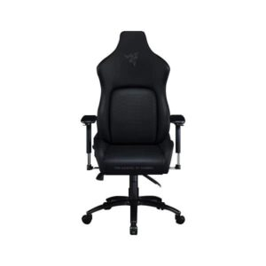 RAZER ISKUR GAMING CHAIR WITH BUILT-IN LUMBAR SUPPORT (BLACK) (RZ38-02770200-R3U1)