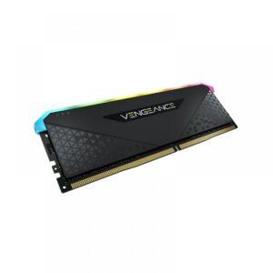 CORSAIR VENGEANCE RGB RS 16GB (16GBX1) DDR4 DRAM 3200MHZ C16 MEMORY BLACK (CMG16GX4M1E3200C16)