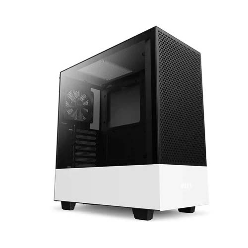 NZXT H510 FLOW COMPACT ATX MID TOWER CABINET (WHITE) (CA-H52FW-01)