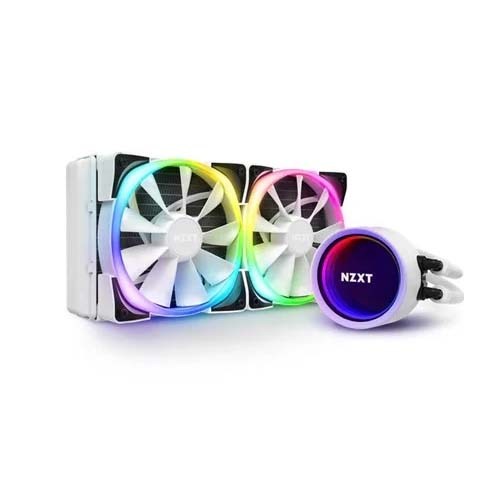 NZXT KRAKEN X53 RGB 240mm WHITE LIQUID COOLER (RL-KRX53-RW)