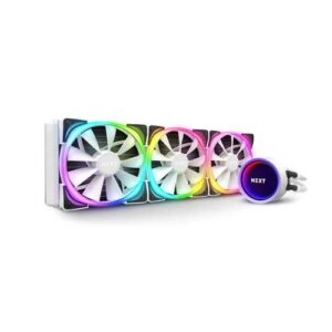 NZXT KRAKEN X73 RGB 360mm WHITE LIQUID COOLER (RL-KRX73-RW)