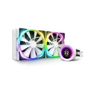 NZXT KRAKEN Z63 RGB 280mm WHITE LIQUID COOLER WITH LCD DISPLAY (RL-KRZ63-RW)